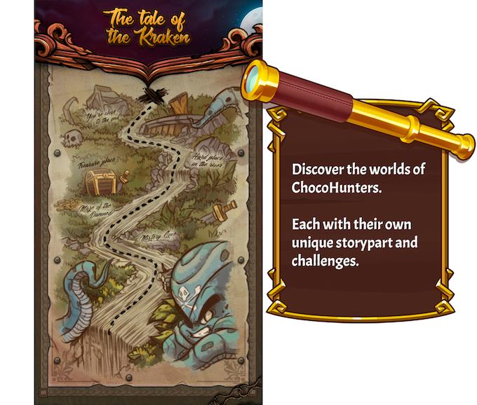 World 1 - Levelmap(Mockup)