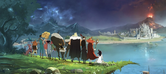 The Main Characters of Tales of Alethrion