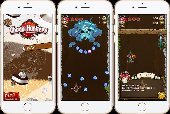 Mobile Game Mock Screens