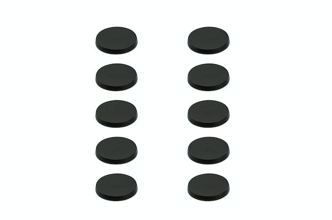 Ten 32 mm Magnetic Bases
