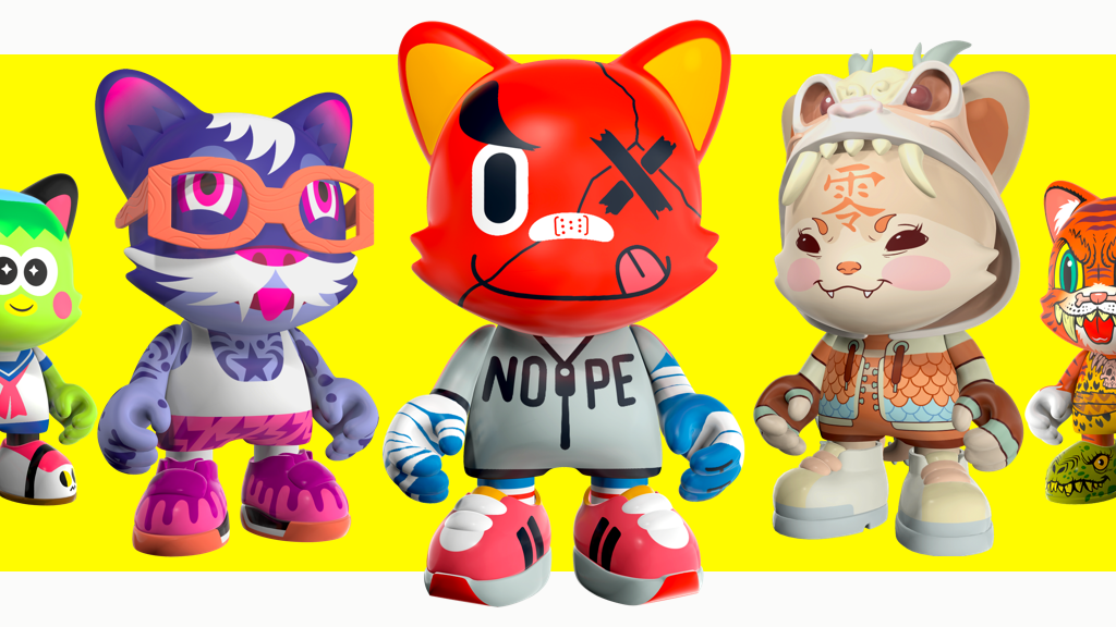 JANKY & MORE: Limited Edition Toys by Superplastic project video thumbnail