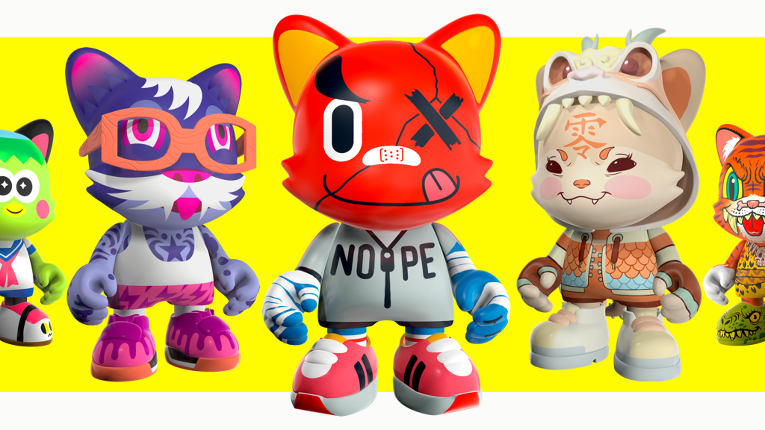 Brilliant designer toys by famous artists from around the world. Brought to you by Kidrobot founder Paul Budnitz & toy artist Huck Gee.