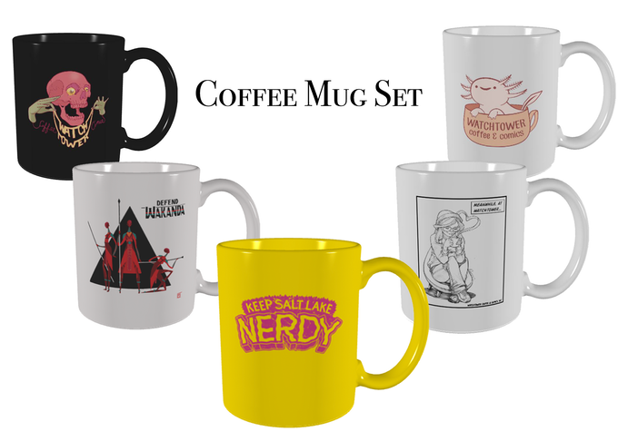 Collect all the mugs!