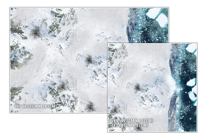 Tailles : Glacier