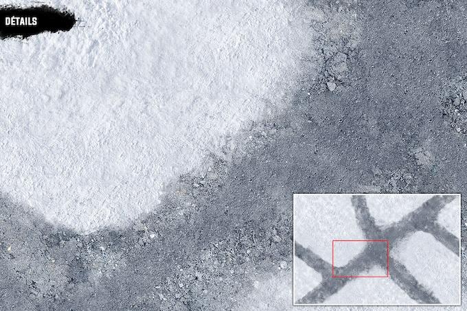 Détails : Rocks & Snow