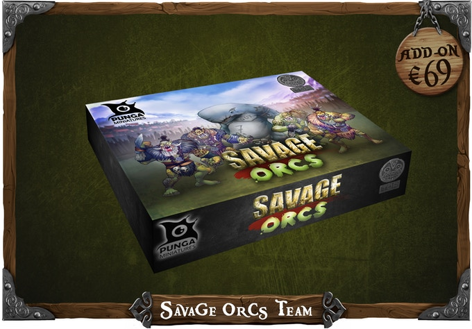 Get the Savage Orcs Team from our previous campaign with a discount
