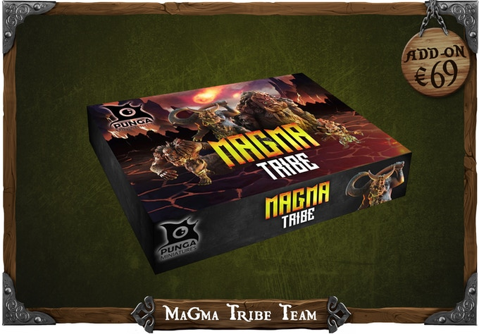 Get the Magma Tribe Team from our previous campaign with a discount