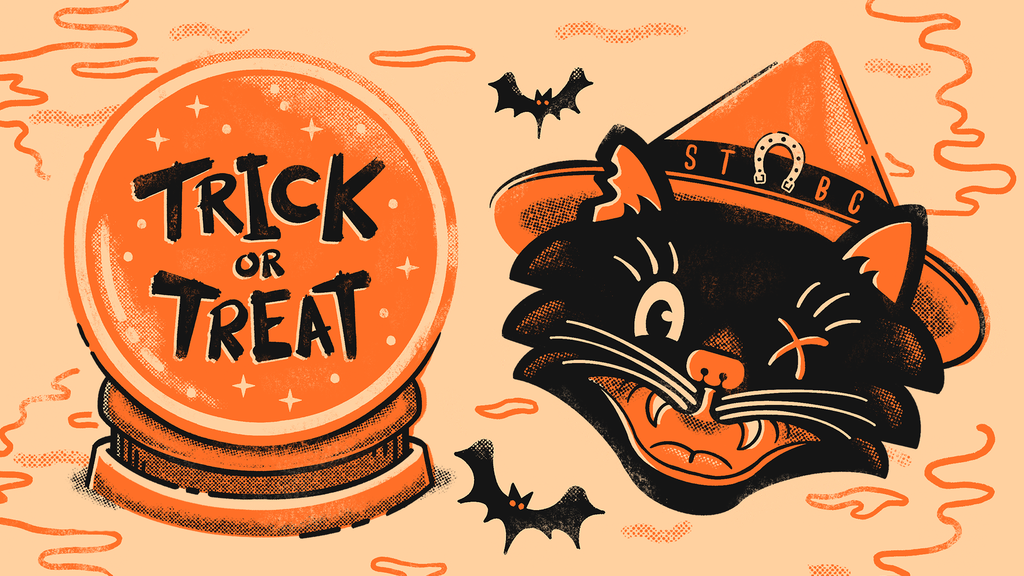 Project image for Trick or Treat - Retro Halloween Enamel Pins & Collectibles