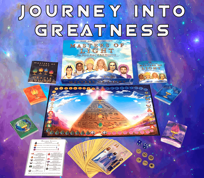 Masters of Light: The Ascended Masters Oracle Board-Game by Now Age