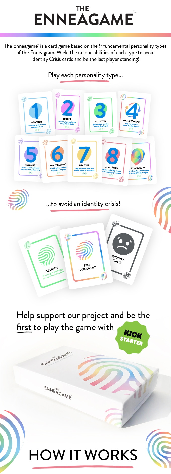 The Enneagame™: A Card Game Based On The Enneagram by The