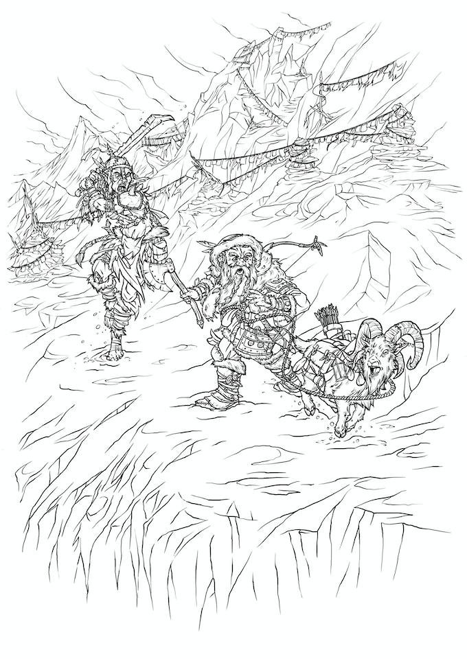 Grynnerbergens stigar är fulla av faror!