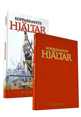 Kopparhavets hjältar, Kodexutgåva i tyg och med snyggt omslag (OBS endast EN (1) bok!)