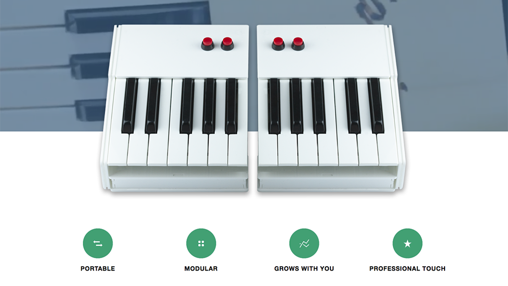 OTTAVIA: build your music and your piano!