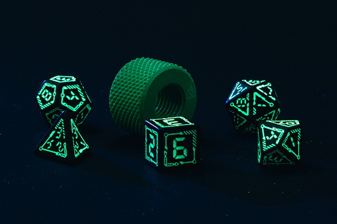 Digital Dice Set - picture
