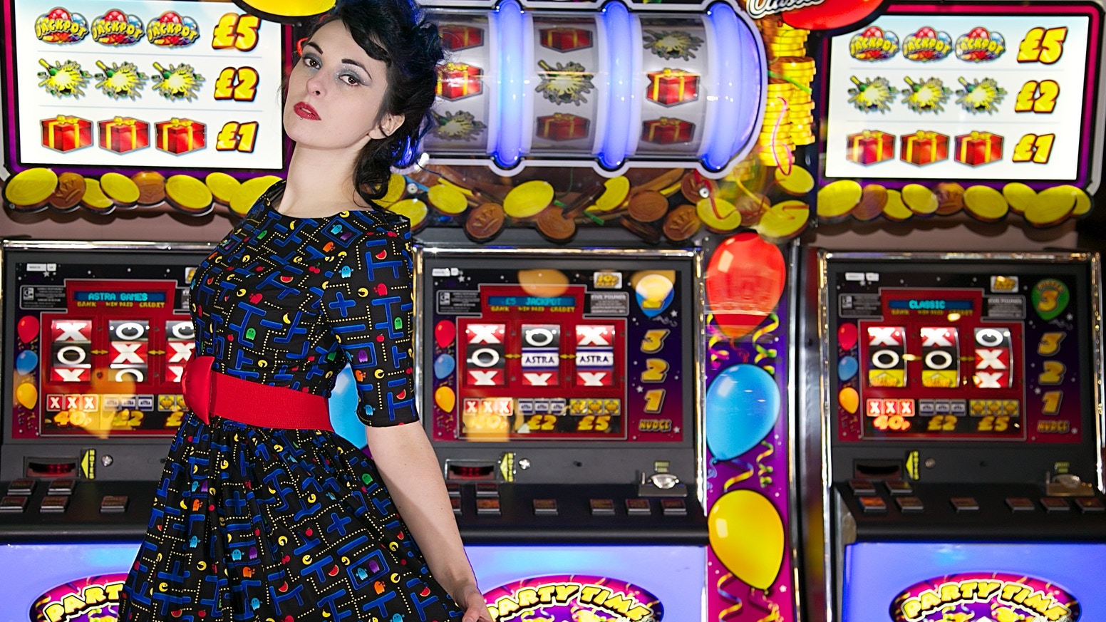 Retro Gamer Dress - Last Chance by Alison Ballard — Kickstarter