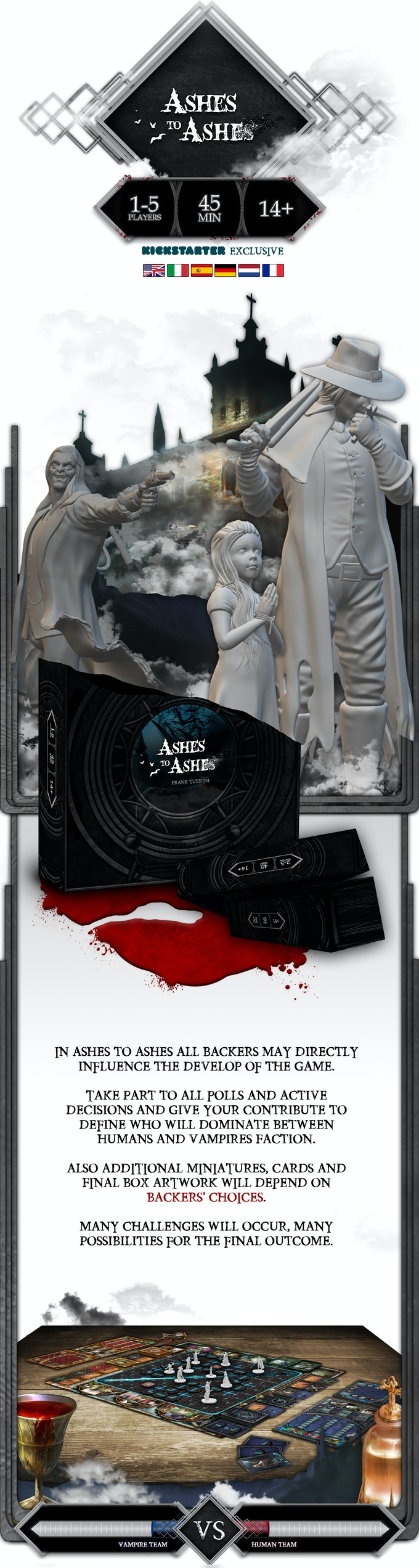 Participate :: Ashes to Ashes - KS Exclusive Game by Alter