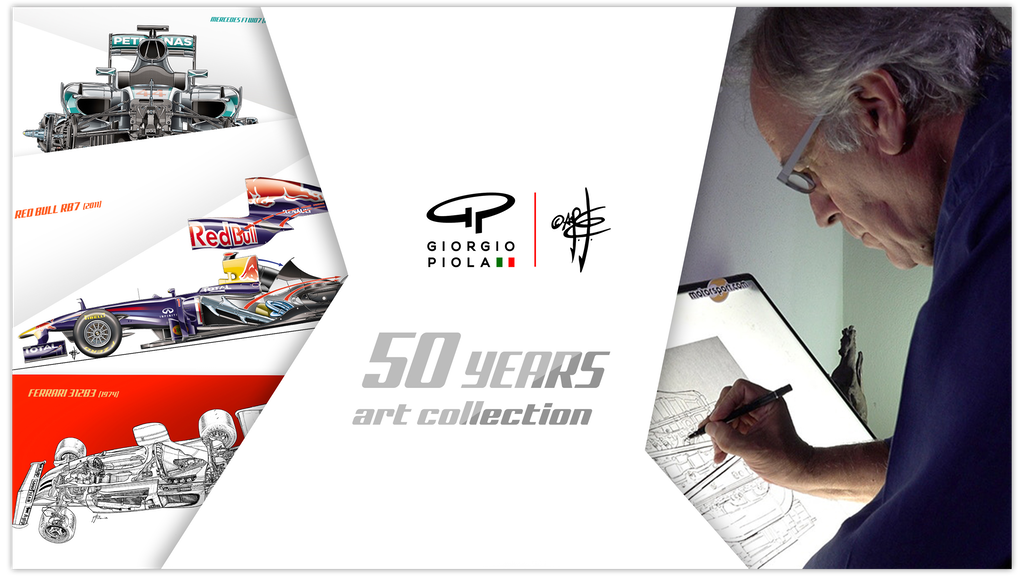 Giorgio Piola 50 Years Art Collection project video thumbnail
