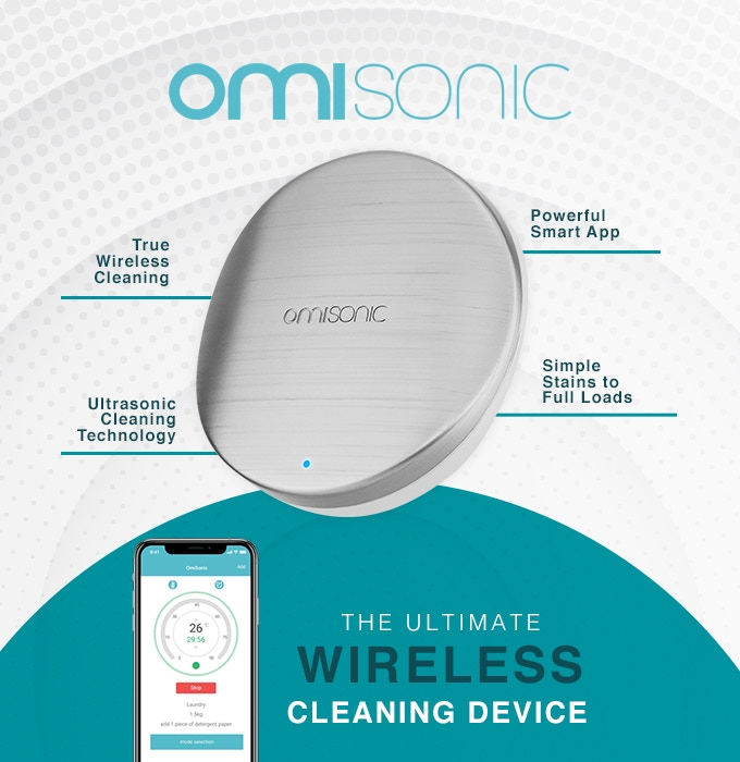 OmiSonic - World's First Wireless Ultrasonic Cleaning Tool