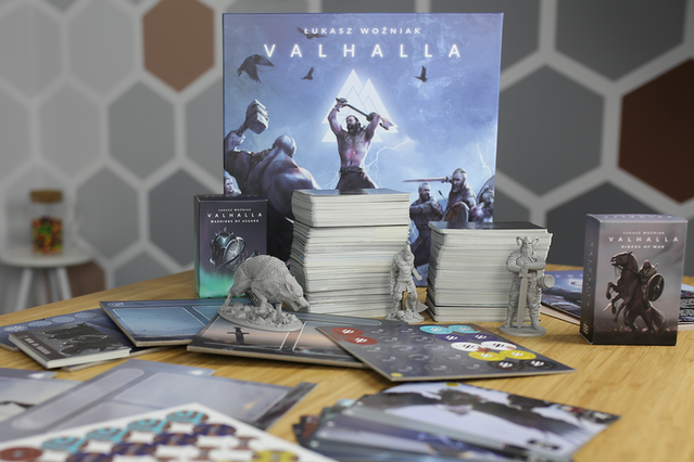 VALHALLA: Card-dice game for 1-6 players by Go on Board — Kickstarter