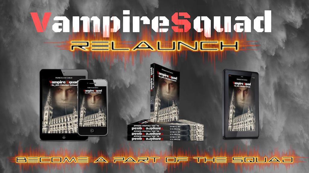 Project image for Von Hexen, Vampiren und Dämonen - Der Vampire Squad Relaunch (Canceled)