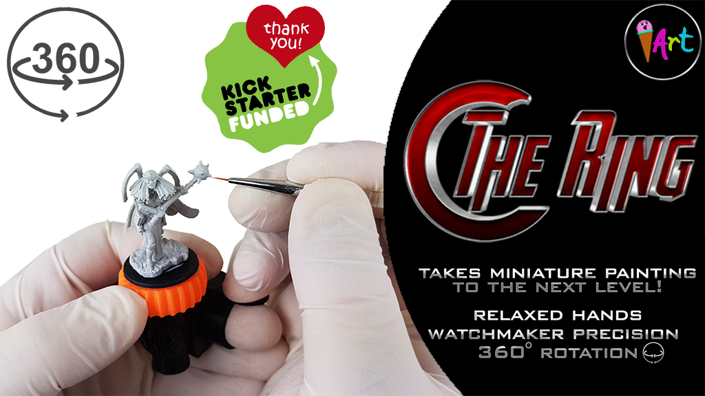 The Ring:The innovative way to help you paint your hobby project video thumbnail
