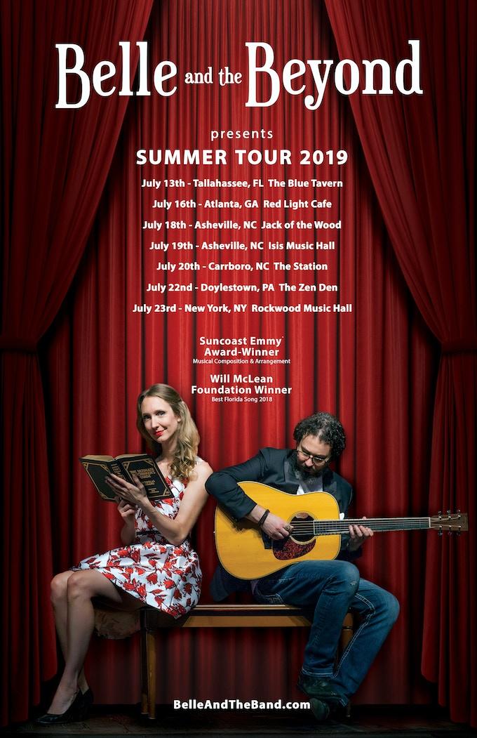2019 Summer Tour poster