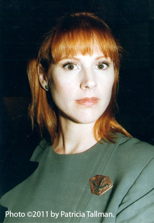 Patricia Tallman on the set of Babylon 5, 19 September 1997.