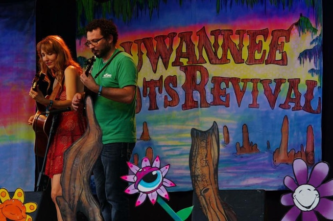 performing at Suwannee Roots Revival