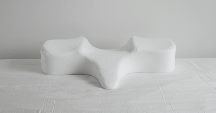 True Pillow helps fix forward head posture, neck curve, and rounded shoulders.