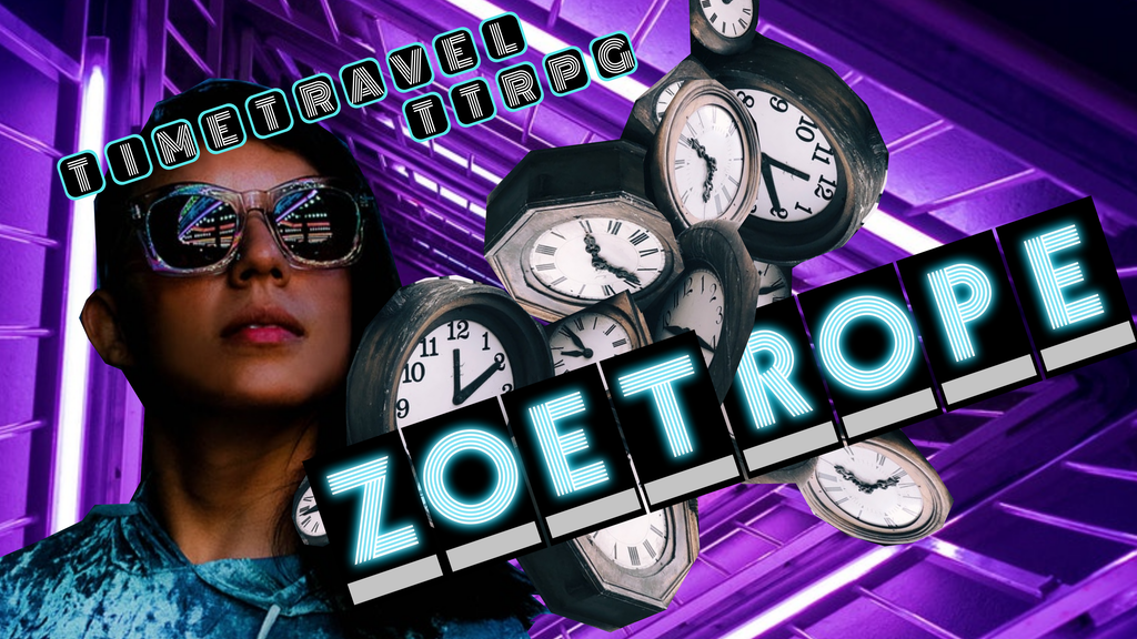 Project image for Zoetrope - Time Patrol Card-based TTRPG