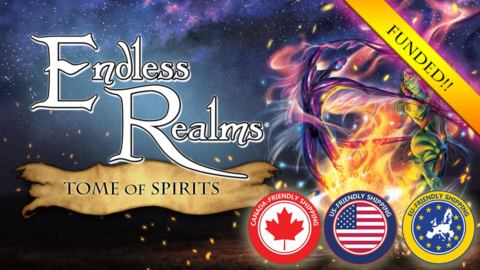 Endless Realms: Tome of Spirits, Our first Tabletop RPG Supplement, and your gateway to the world of the spirits.