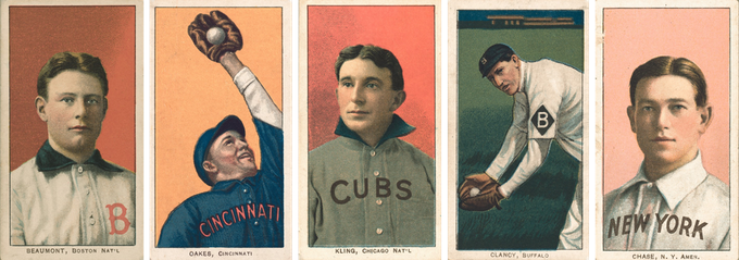 1909 Baseball Card Restoration And Reprint Project By Greg