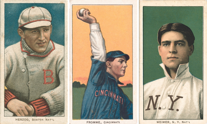 1909 Baseball Card Restoration And Reprint Project By Greg Klingler