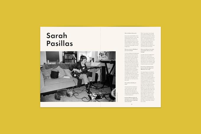 interview with musician Sarah Pasillas of Antonioni