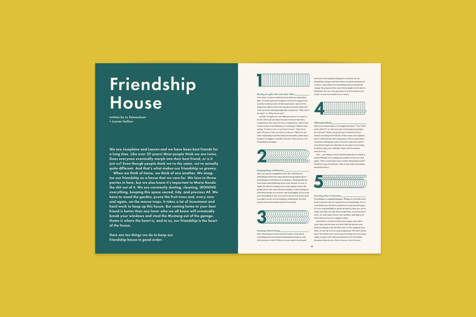 written by Josephine Edmondson and Lauren Gallow