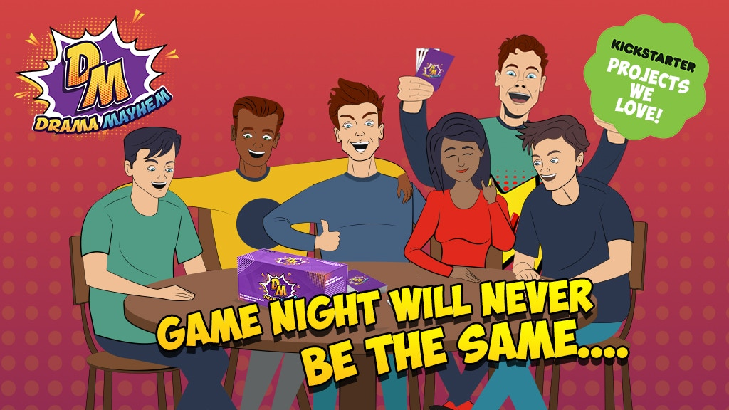 Drama Mayhem | Game Night Will Never Be The Same. project video thumbnail