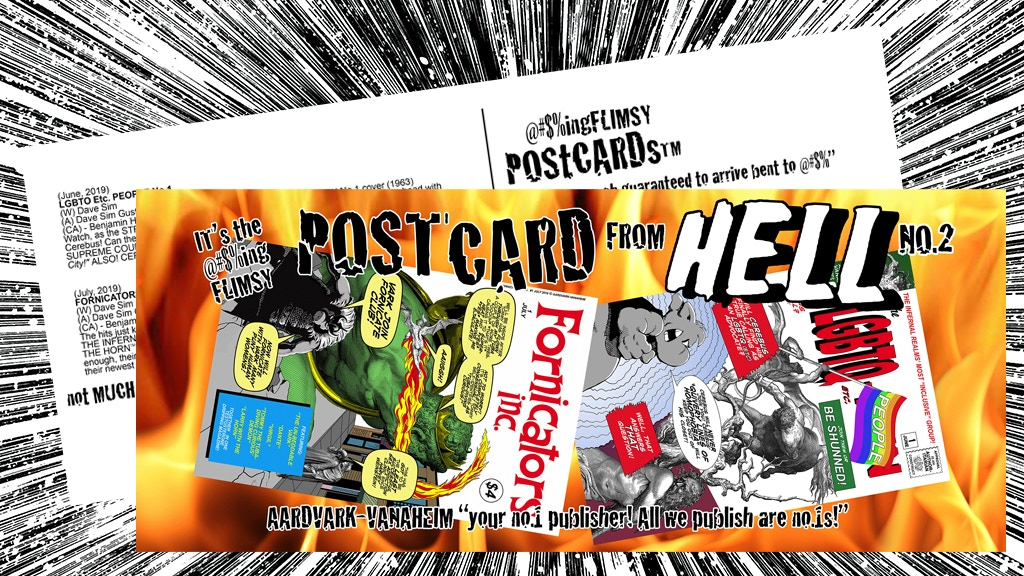Cerebus Postcard From Hell? No. 2 project video thumbnail