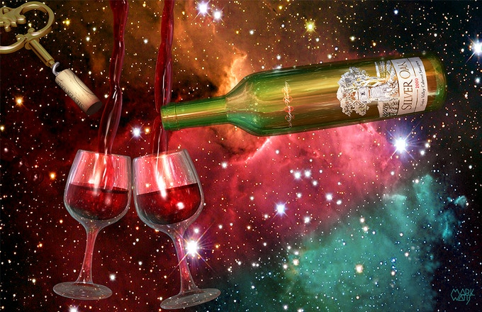 Wine Space Image that is Included in all Table-Art rewards with 4 prints