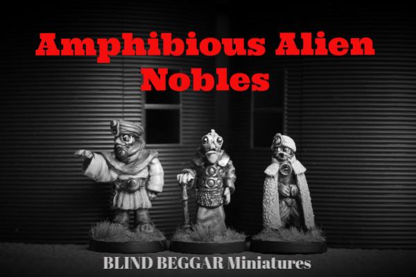 Amphibious Alien Nobles