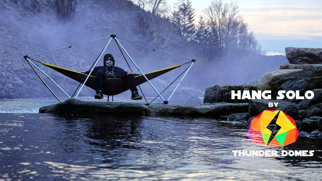 Hang Solo: Portable Hammock Camping Stand project video thumbnail