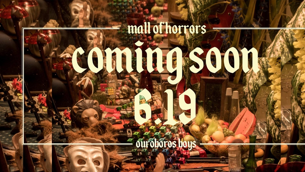 Project image for Ouroboros Boys MALL OF HORRORS album release