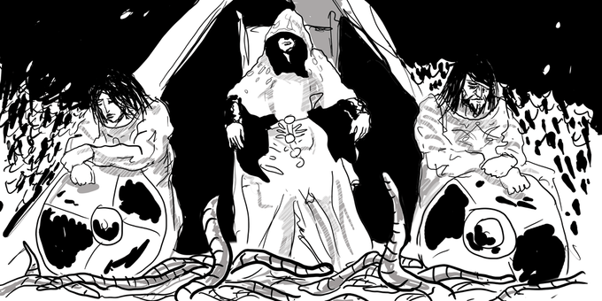 A Worm Witch and her Worm Wardens
