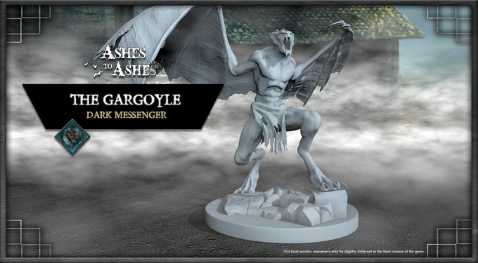 The Story of The Gargoyle is enlaced with Social Stretchgoals.