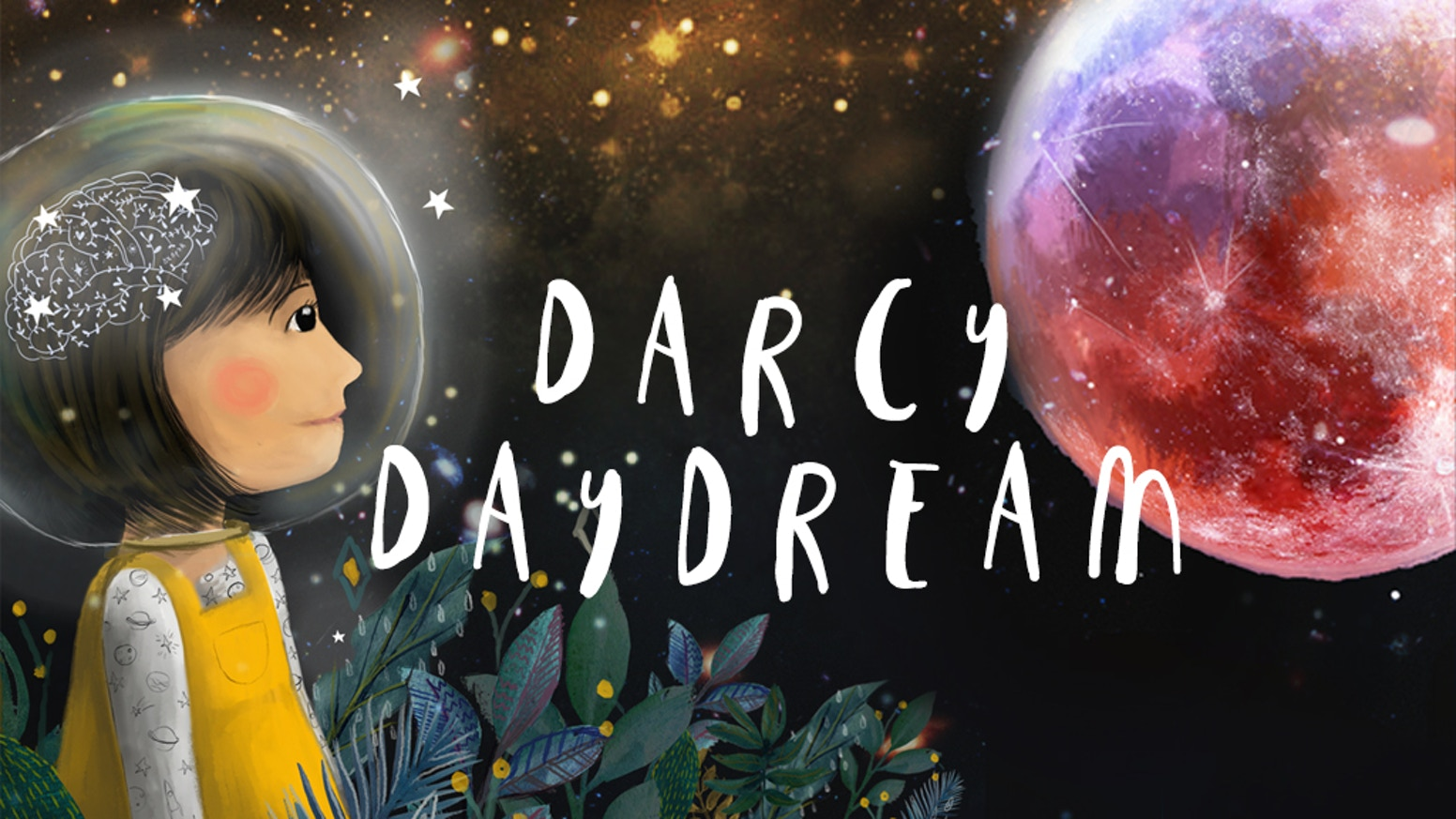 A dream-filled children's book in which a clever little girl first realises she is a small piece of stardust in an infinite universe.