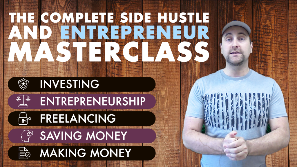 The Complete Side Hustle and Entrepreneur Masterclass project video thumbnail
