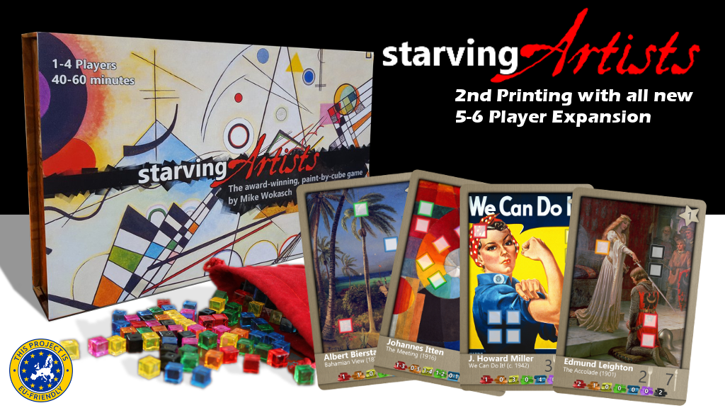 Starving Artists - Second Printing of the Award-Winning Hit! project video thumbnail