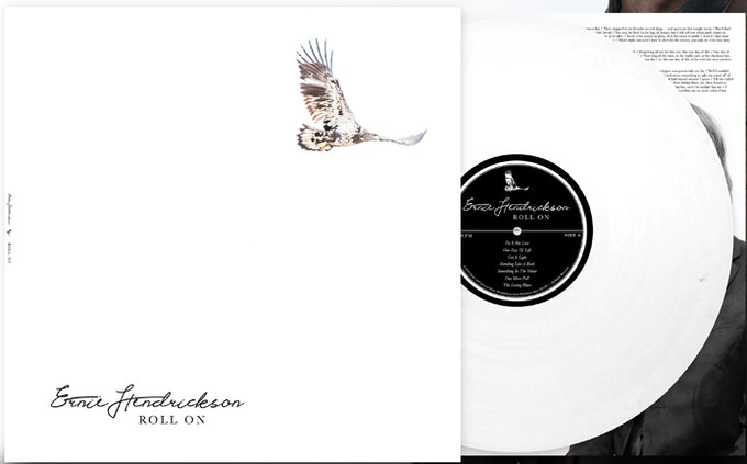 """Roll On"" (white) Vinyl"