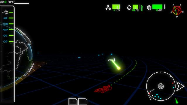 Chasing down a gunship