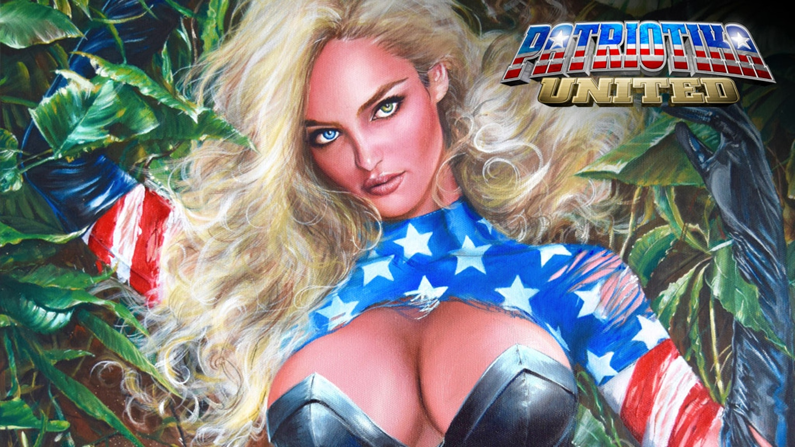 Patriotika is back and this time there's prehistoric action!