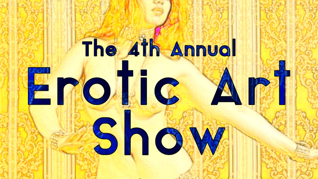 Update 2: Meet Featured Artist Avid Antonelli · 4th Annual Erotic Art Show
